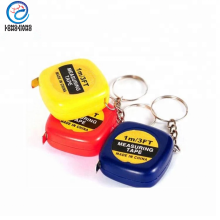 ABS mini tape measure for bulk sale tape measure keychain