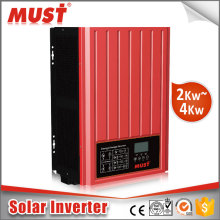 < MUST POWER>pumps solar generators solar hybrid inverter on off grid tie 5000va 4000w built-in MPPT solar charge controler
