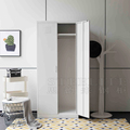 2 Door Steel Wardrobe Bedroom Metal Almirah Designs With Price