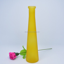 Glass Vase/clear And Coloured Home Decorative Glass Flower Vase/china Handmade High Quality Glass Vase