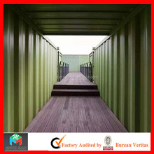 High quality natural comfort prefabricated sheet metal container house