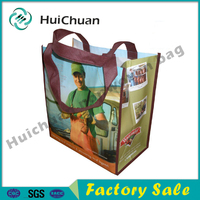 popular customized wholesale nonwoven pp laminated tote bag