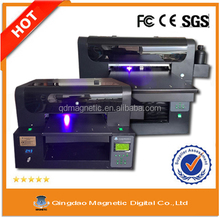 Best price pvc/id card digital inkjet uv printer with high performance flatbed printer in dubai small format uv printer