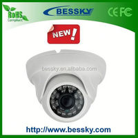 Bessky 2014 Cheapest Best Plastic IR Dome Camera Home Security CCTV Camera wifi cctv camera with sony ccd