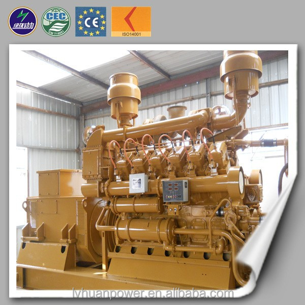 High efficiency natural gas chp cogeneration generator