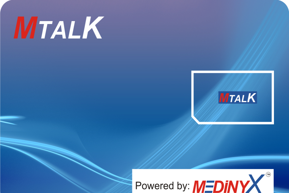 MTalk International Prepaid SIM Card