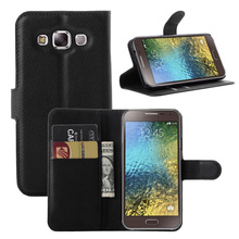 Factory flip cover case hot selling cover for for galaxy e5
