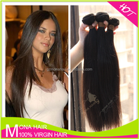 Silky straight wave raw natural brazilian hair for sale