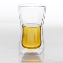 450ml heat resistant clear drinking glasses