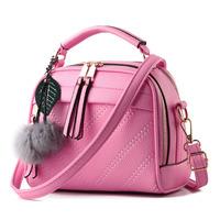Wholesale customized 2017 Fashion Mini Pu leather Handbag Women Messenger Shoulder Bags