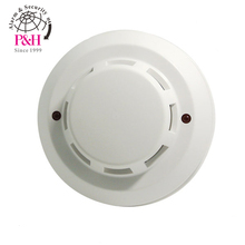 High quality White color LED Flash Conventional Indoor Outdoor Smoke Detector