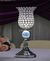 crystal beads vase lights table centerpieces wedding decoration