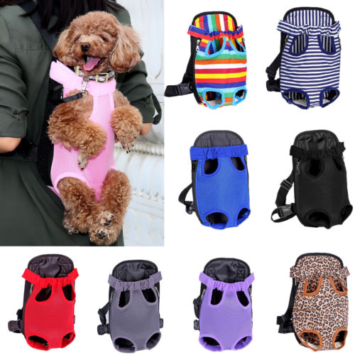 Pet carrier backpack bag OEM customize personalised dog front carrier bag
