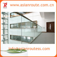 u channel glass balustrade fabricate mounts