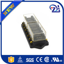 Auto fuse box 6 relay relay holder 5 road The nacelle insurance car insurance with 5 relay 12V 80A
