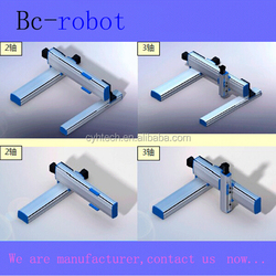 electronic product testing mechanical hand.industrial robot arm 3 axis