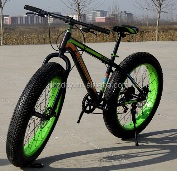"26"" Fat mountain bicycle/Snow Tire Bicycle Bicicleta Fat Bike for selling"