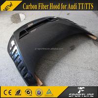 Carbon Fiber Engine Hood for AUDI TT TTS Style Hood 08-12 8J Body