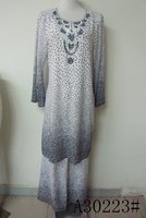 new stylish beaded women islamic clothing
