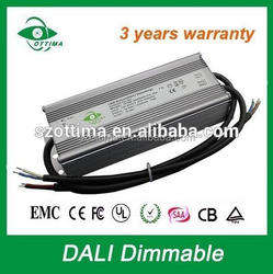 Constant voltage waterproof dali dimmable led driver 24v 200w ip67