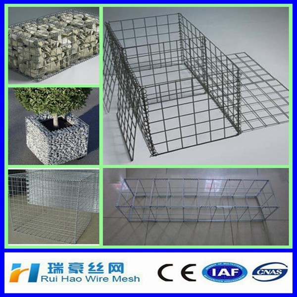 High tensile and absorb water steel wire mesh gabions on with direct facotry