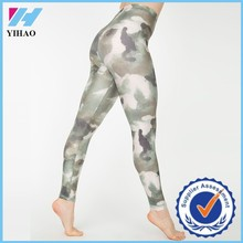 Trade assurance Dongguan Yihao Wholesale Camouflage Crane Sportswear Custom Gym Pants Sportswear Manufactuer From China