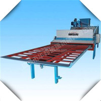 Glass Double Edging Machine with Casting Iron Cabinet