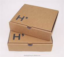 Reasonable price custom design OEM orange cardboard shipping box