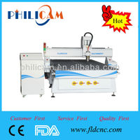 Hot sale !!! high speed and high power cnc 1530 router engraver of Philicam