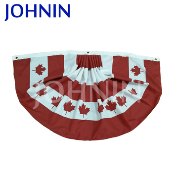 Factory Custom Best Quality House Decorative Canada Flag Bunting