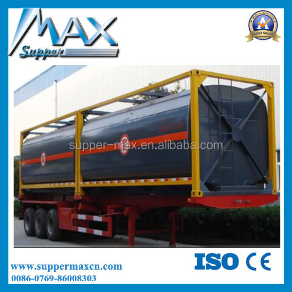 Oil Tanker Container Semi Trailer
