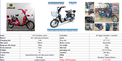 Green power Buy from China Better City better life,Best seller MiLG-JML Electric bicycle M 6 with CBS China online