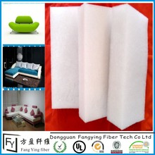 Needle punched non-woven 100% polyester cheap hardness felt pad for mattress material