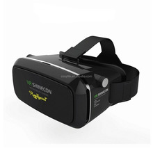 3D VR Virtual Reality Headset for Movie/Game,Virtual Video Glasses with Adjustable Lens and Strap for iPhone 6 Plus/6