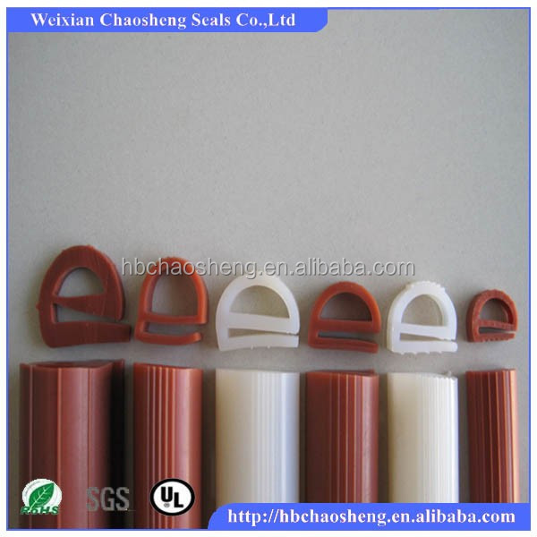 Shower glass door rubber seal/Silicone shower door seal strip