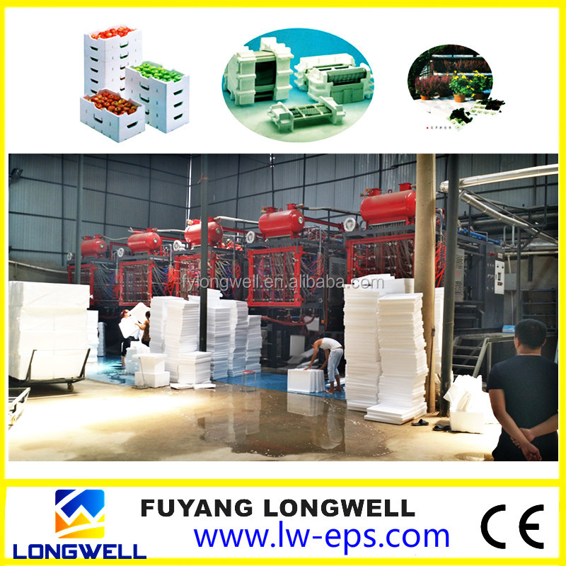 Longwell Best Grade EPS Equipment Making Polystyrene Boxes