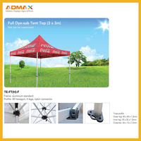 Pop up advertising tent/trade show canopy custom tent