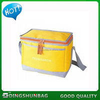 Quality hotsell portable food cooler box tote cooler bag