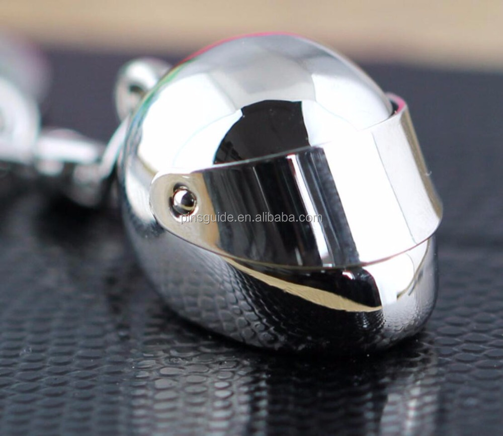 Full 3D metal motorcycle helmet keychian Superior quality Promotional Gift Keyring