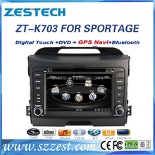 For kia sportage automatic car cassette and cd dvd and gps car radio with GPS 3G Wifi Rearview camera Parking sensor