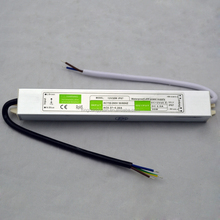 Aluminum housing 30W 12V led strip module and cctv camera used power transformer
