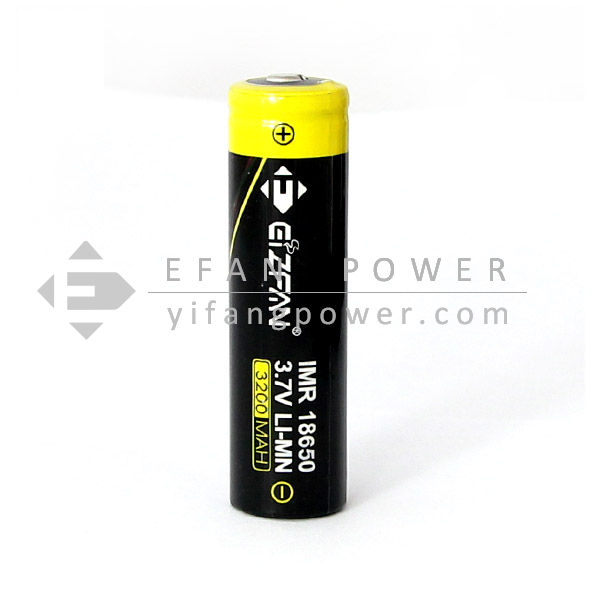 Button Top Efan battery new 18650 3200mah 3.7V 35A IMR high drain rechargerable battery