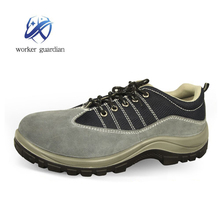 new fashion cheap suede leather working safety shoes safety boots with steel toe