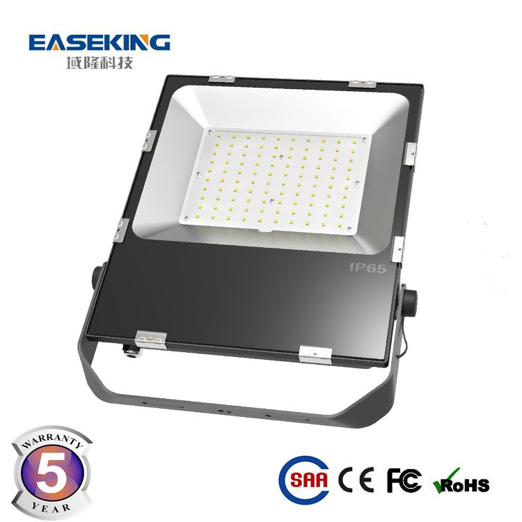Outdoor lighting 100w flood light rechargeable led tower