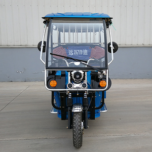 India 48V 1000W Three Wheel Battery Passenger Tricycle Electric Rickshaw