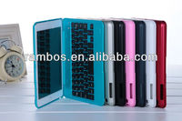 For iPad mini Aluminum Alloy Keyboard BT Stand Tablet keyboard Smart Hard case