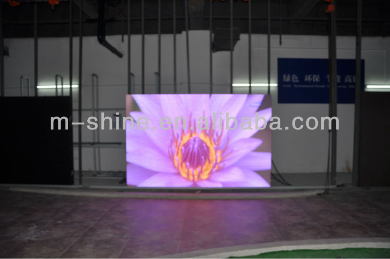 super light P6 indoor rental displays screen supplier