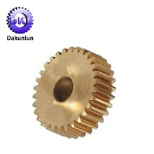Custom High Precision CNC Machining Brass Gear