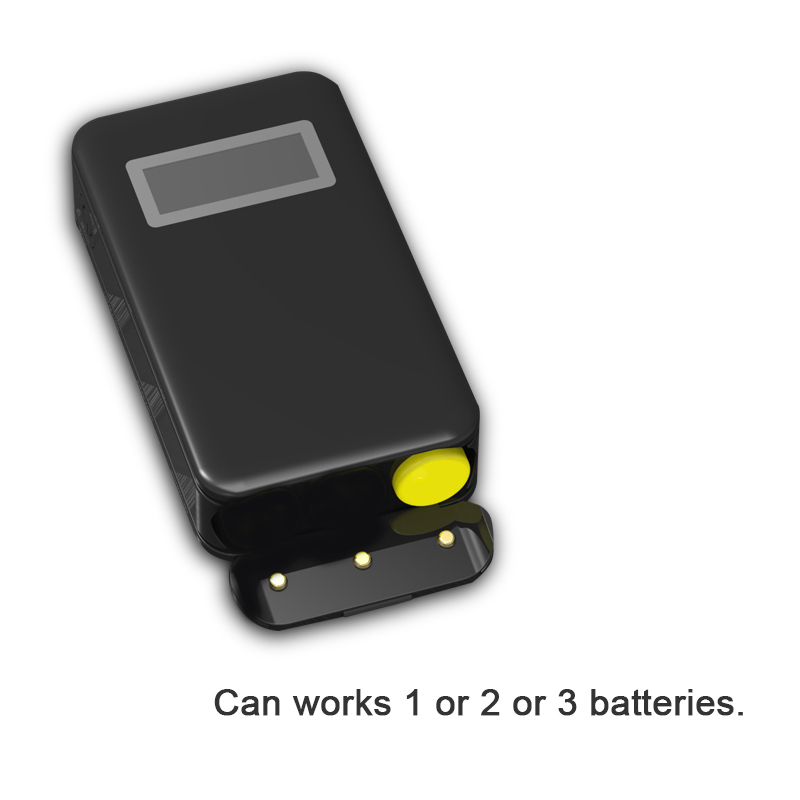 replaceable 18650 battery power bank diy casing for 18650 li ion battery with dual usb output