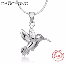 Wholesale Peace Bird Pendent Jewelry 925 Pure Sterling Silver <strong>Necklace</strong>